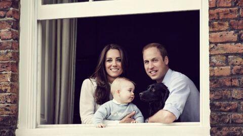 PHOTOS Kate et William dévoilent une craquante photo de famille avec leur fils George