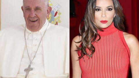 PHOTO Eva Longoria a rencontré le Pape François