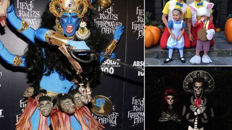 PHOTOS Les déguisements d'Halloween les plus réussis des stars