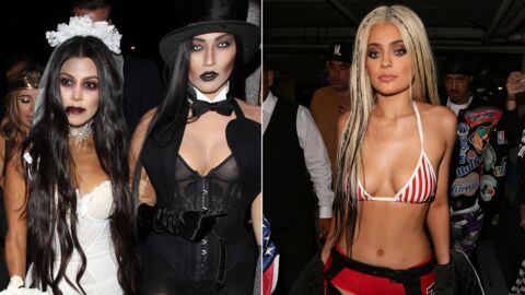 PHOTOS Les costumes d'Halloween ultra sexy de Kylie Jenner et Kourtney Kardashian
