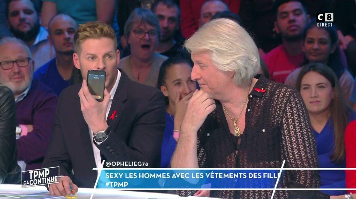 VIDEO TPMP: Matthieu Delormeau harcelé en plein direct, il explique pourquoi