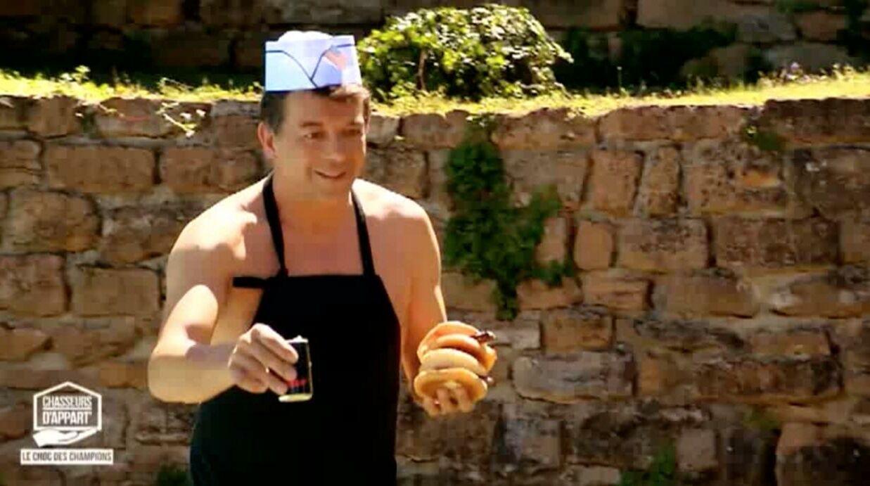 VIDEO Chasseurs d'appart: Stéphane Plaza montre ses fesses à deux participantes