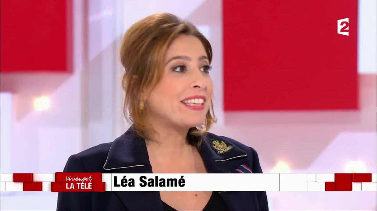 VIDEO Léa Salamé parle de sa grossesse qu'elle n'avait pas du tout prévue