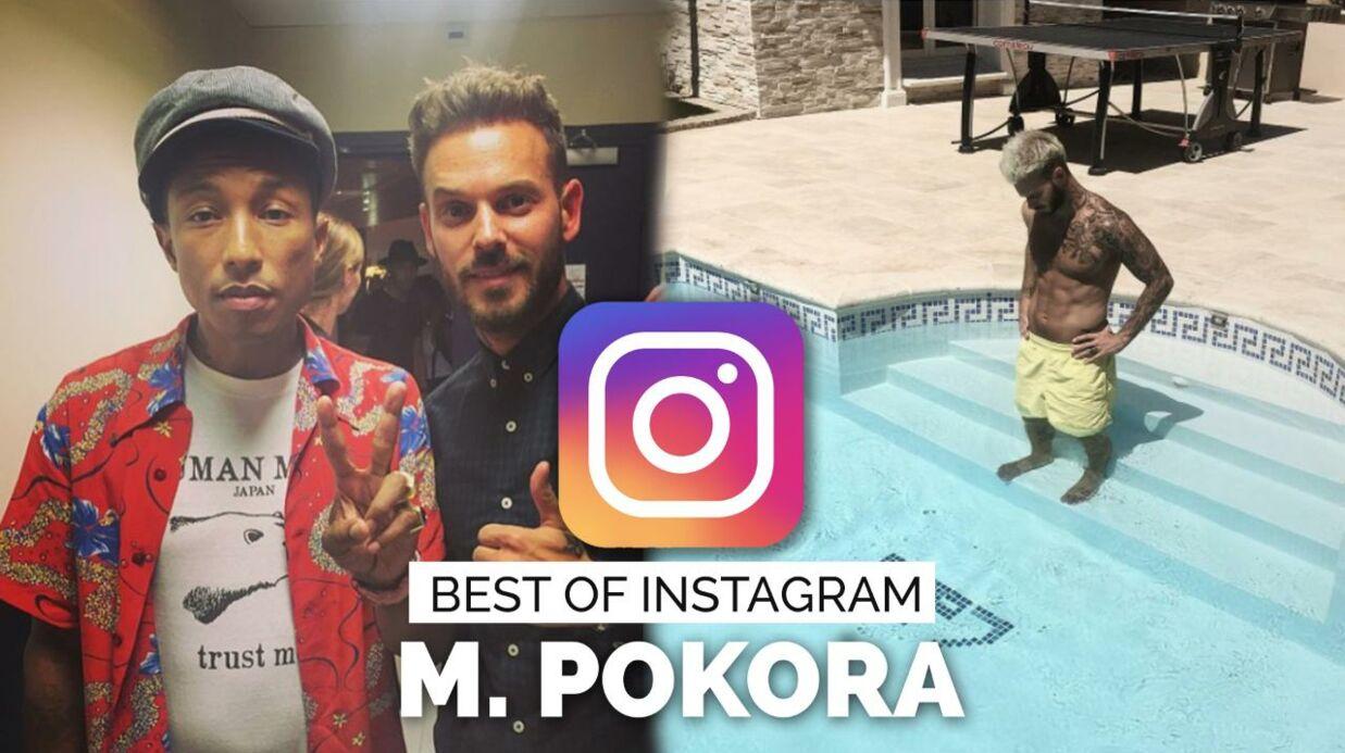 PHOTO M Pokora SEXY torse nu: le chanteur enflamme Instagram