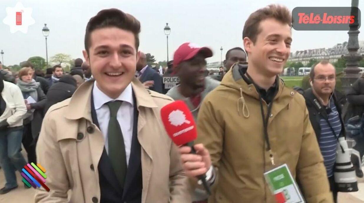 VIDEO Hugo Clément retrouve le militant qui lui avait fait une proposition indécente: il est toujours aussi chaud