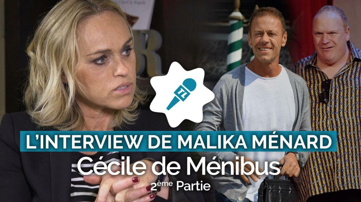 Cécile de Ménibus: Franck de Lapersonne lui a fait vivre un enfer quand ils étaient partenaires au théâtre