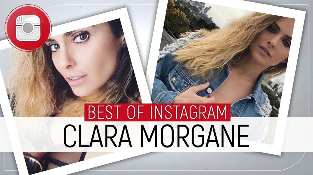 PHOTO Clara Morgane très sexy en body transparent, elle réchauffe les internautes