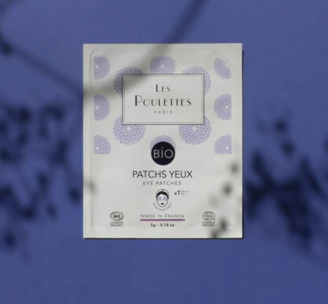 Patchs yeux bio, Les Poulettes, 6,90€