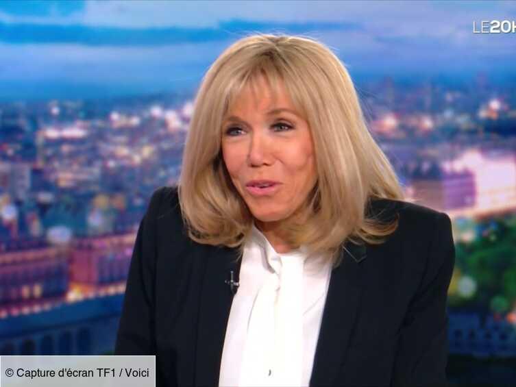 Brigitte Macron interviewée sur TF1 : ce détail qui a intrigué les internautes