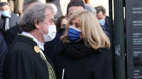 Mort de Pierre Cardin: Brigitte Macron, Sylvie Vartan et Pierre-Jean Chalençon présents à la messe hommage