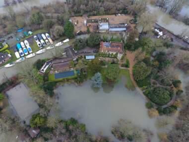 George Clooney victime d'une inondation : les photos impressionnantes du désastre