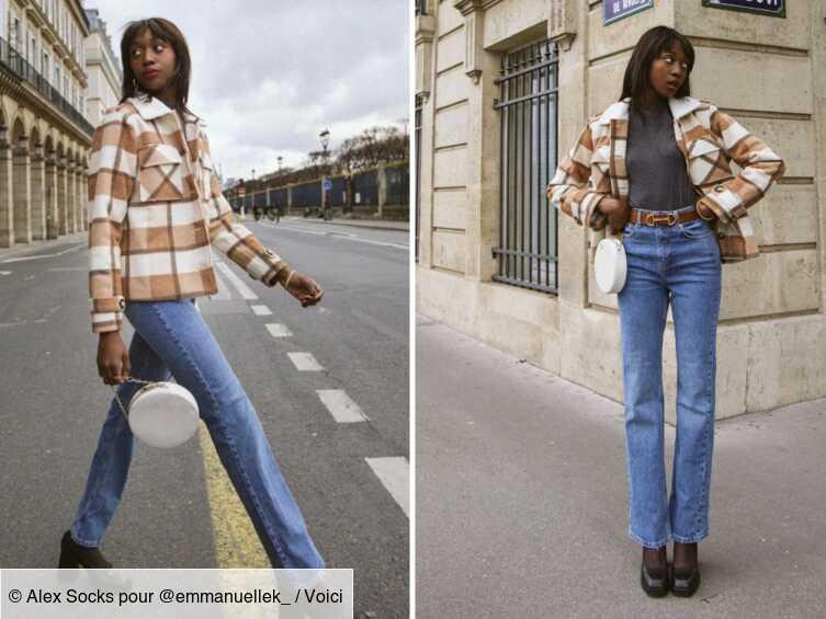 Comment porter la veste à carreaux comme l'influenceuse Emmanuelle Koffi?