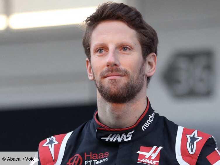Romain Grosjean : de retour sur les circuits le champion ne cache pas sa joie