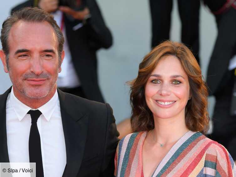 Jean Dujardin et Nathalie Péchalat parents : découvrez le prénom de leur deuxième fille - Voici