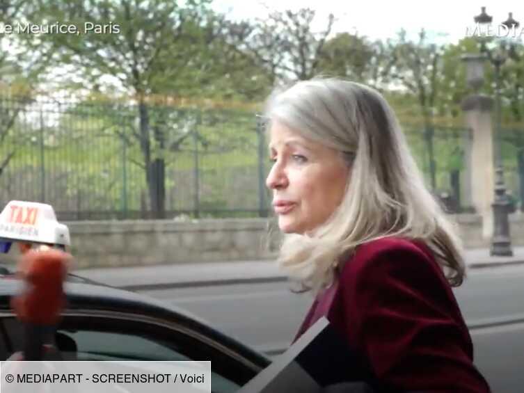 Dîners clandestins : la sénatrice Joëlle Garriaud-Maylam surprise à la sortie du Meurice après un déjeuner privé