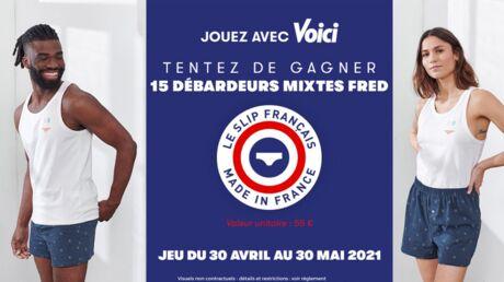 Tentez de gagner 15 débardeurs mixtes Fred avec Le Slip Français!