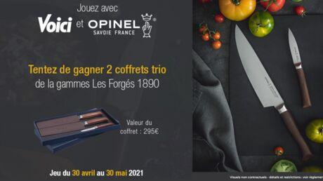 Tentez de gagner 2 coffrets trio de la gammes Les Forgés 1890 avec Opinel!