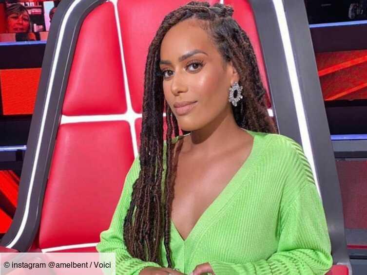 The Voice : le look vert fluo d'Amel Bent fait sensation lors de la demi-finale