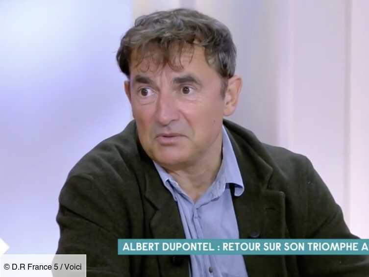 VIDEO Albert Dupontel absent des César : il s'explique et dévoile sa réaction en découvrant les nombreuses récompenses pour Adieu les cons