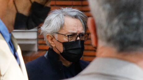 PHOTO Richard Berry en deuil: il fait sa première apparition publique depuis les accusations d'inceste