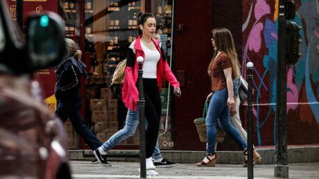 Emily in Paris: le blouson de Lily Collins ne coûte que 11 euros!