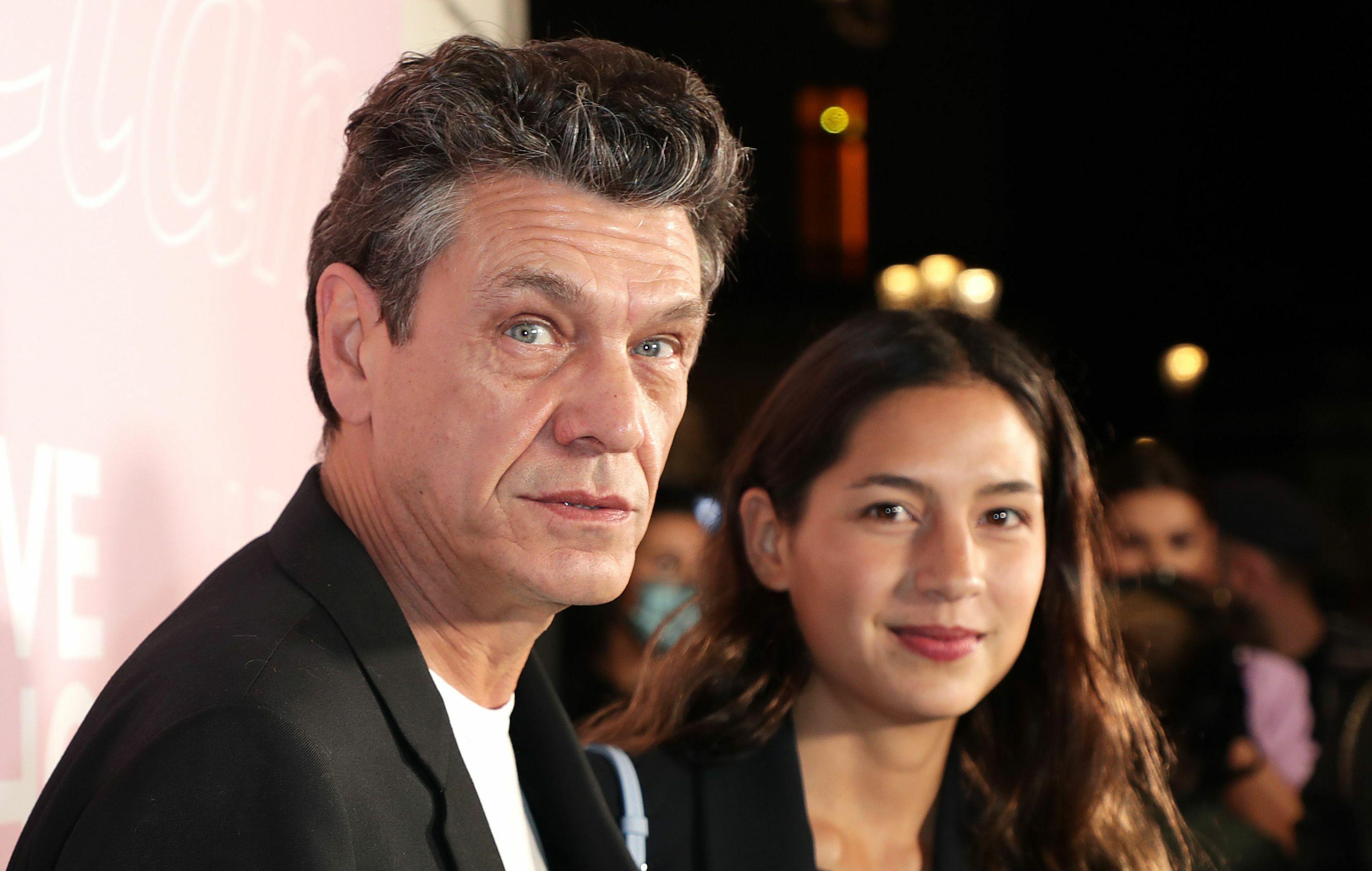 Marc Lavoine Evoque Sa Difference D Age Avec Line Papin Et Se Compare A Un Autre Couple De Stars Voici