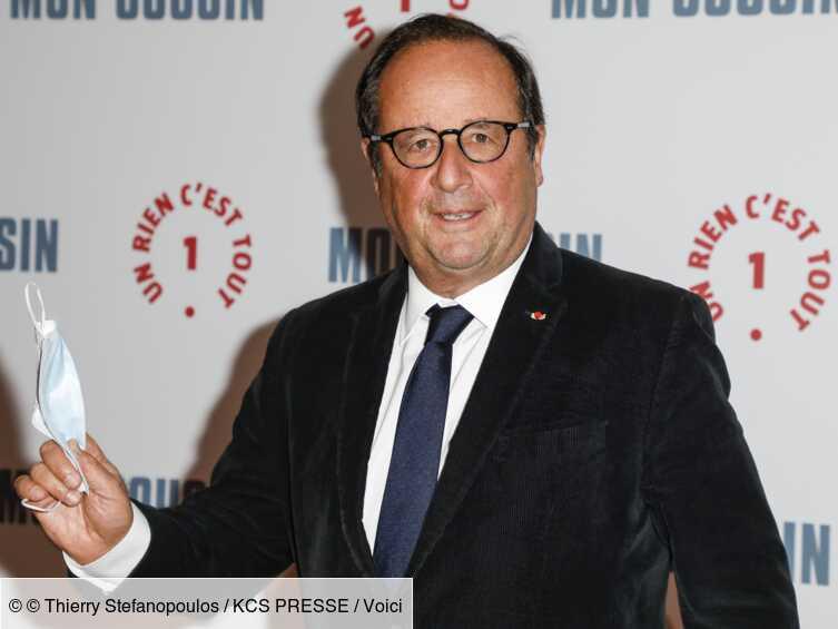 PHOTOS François Hollande en plein moment festif : l'ancien président trinque avec des lycéens