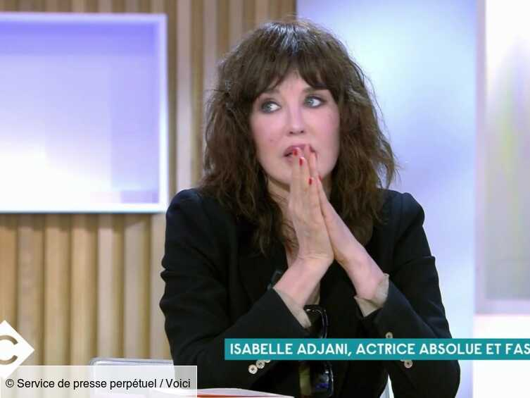 VIDEO C à vous : Isabelle Adjani très émue par un message élogieux de Jean-Pierre Bacri qu'elle n'avait jamais vu