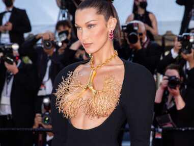 PHOTOS Festival de Cannes 2021 : Bella Hadid en montre presque trop et enflamme la Croisette