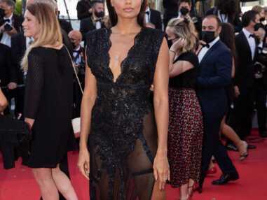 PHOTOS Festival de Cannes 2021 : Alicia Aylies ose le décolleté plongeant, Valérie Lemercier fait le show, Isabelle Huppert très chic
