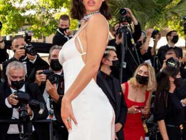 PHOTOS Festival de Cannes 2021 : Adèle Exarchopoulos incendiaire dans une robe dos nu, Louise Boujenah ose le décolleté