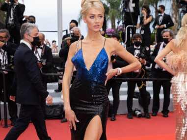 PHOTOS Cannes 2021 : Angelina Kali laisse s'échapper un sein, premier gros accident de robe