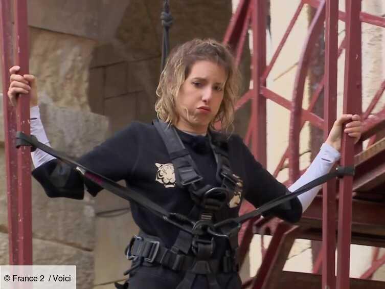 VIDEO « Ça va pas du tout » : Léa François révèle pourquoi elle était terrorisée lors de l'épreuve du vide ...