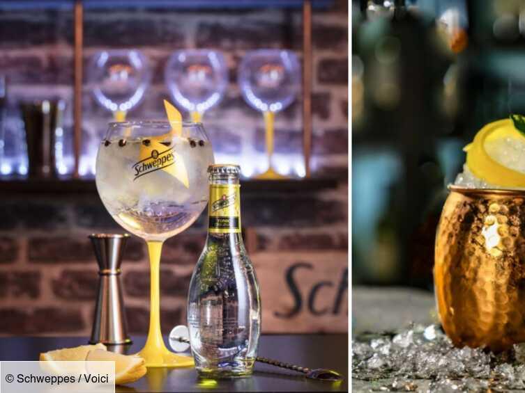 Apéro : 3 super cocktails à base de Schweppes, prêts en moins de 3 minutes