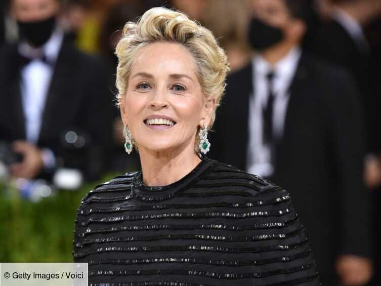 Sharon Stone : à 63 ans, elle ose la robe à motif léopard et c'est un succès!