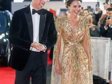 PHOTOS Kate Middleton éblouissante à l'avant-première de James Bond : ce geste du prince William qui en dit long sur sa relation avec sa femme