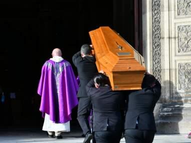 Obsèques d'Etienne Mougeotte : Patrick Poivre d'Arvor, Nicolas Sarkozy, Jean-Pierre Foucault, Claire Chazal ont assisté à la cérémonie