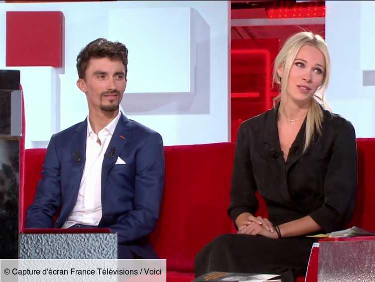 VIDEO Vivement Dimanche : l'émotion de Marion Rousse en évoquant le deuxième titre de champion du monde de ...