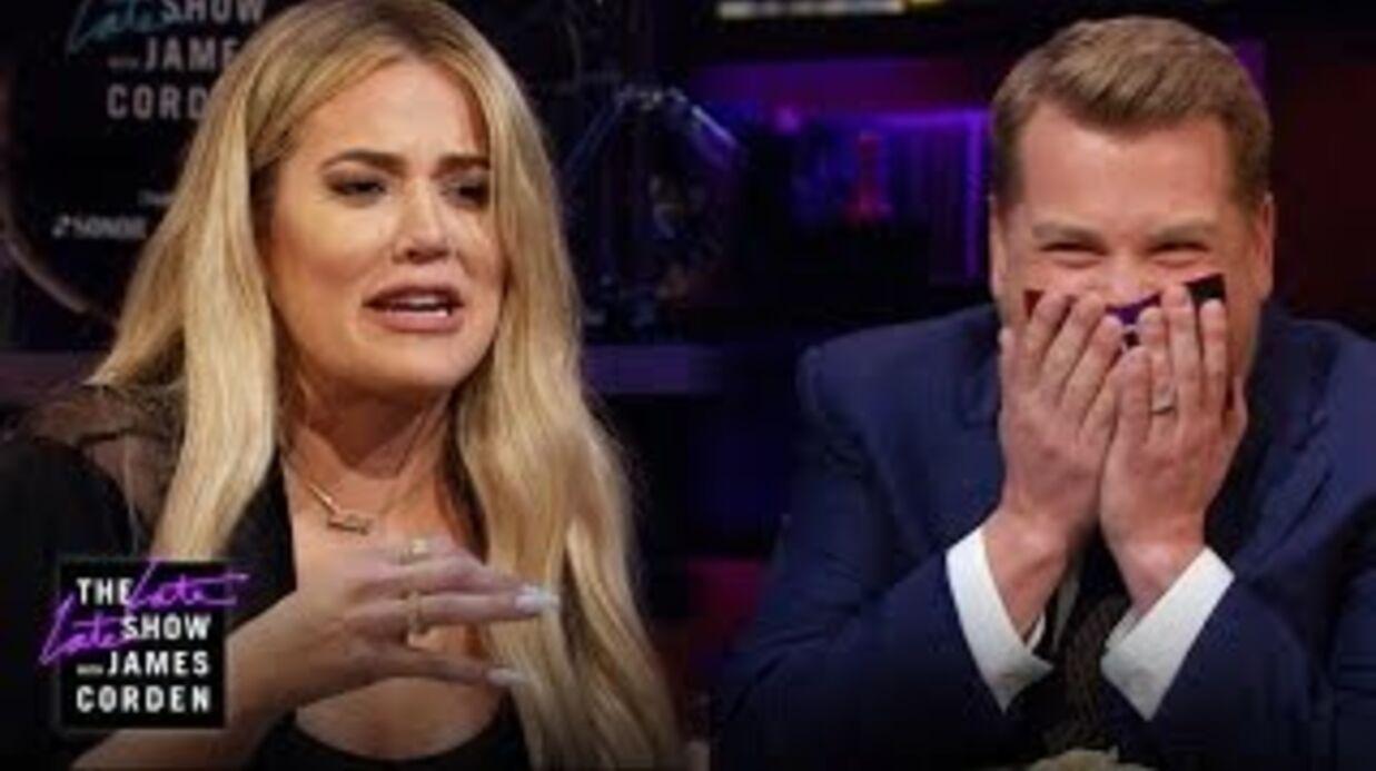 VIDEO Khloé Kardashian mange un œil de poisson pour éviter de répondre à une question délicate