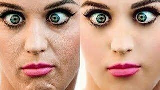 Unreal Celebrity Photoshop Transformations