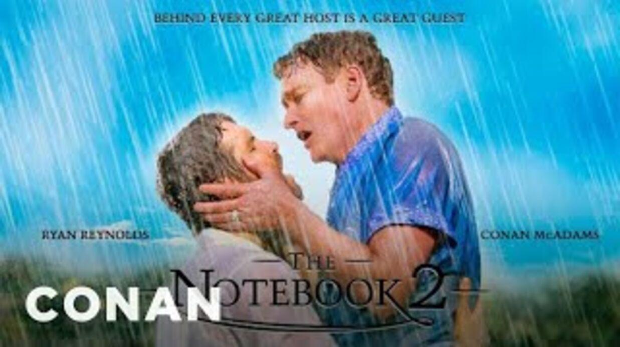 VIDEO Ryan Reynolds rejoue le baiser du film N'oublie jamais avec… un homme!