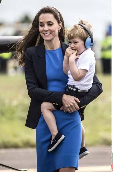 Anniversaire du Prince George - Kate était bien sûr présente