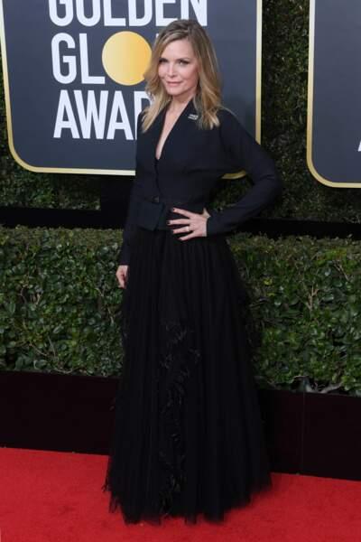 Michelle Pfeiffer lors de la 75e cérémonie des Golden Globes, le 7 janvier 2018