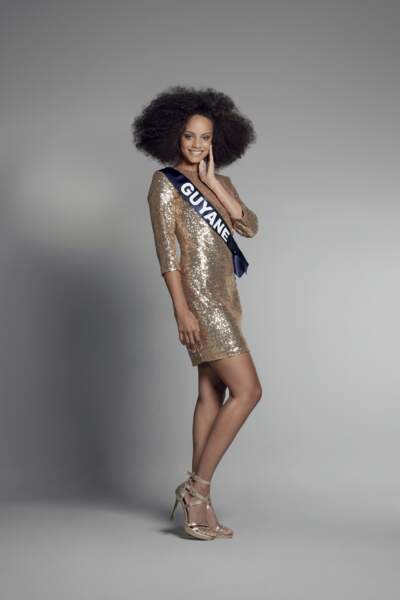 Miss Guyane : Alicia Aylies – 18 ans