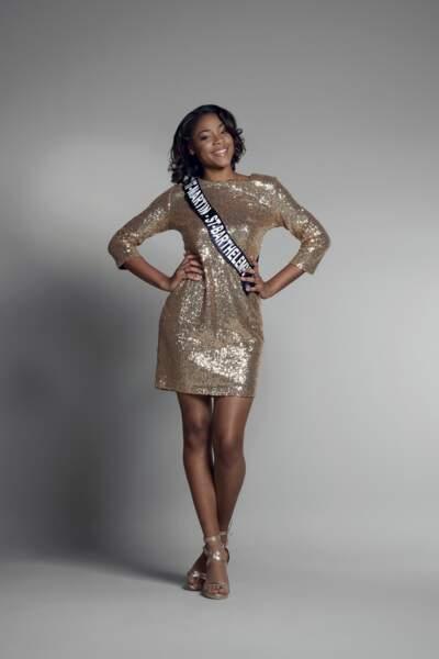 Miss Saint-Martin et Saint-Bathélemy : Anaëlle Hyppolite – 18 ans