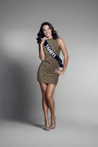 Miss Tahiti : Vaea Ferrand – 22 ans