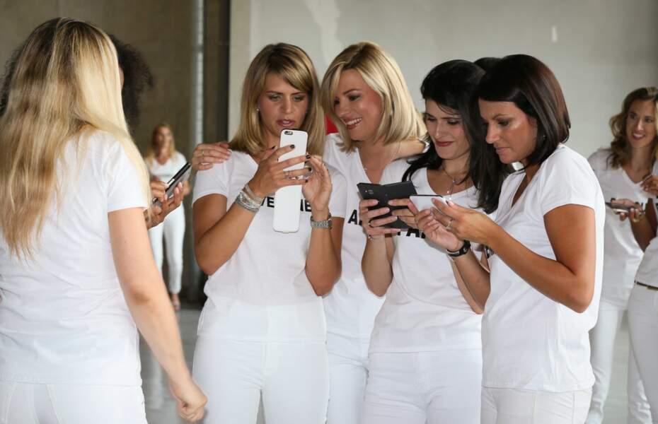 Photos, sms, échanges de coordonnées, les miss 2001 ont adoré se revoir