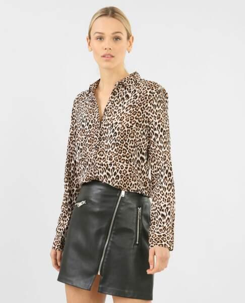 Chemise léopard, Pimkie, 7€