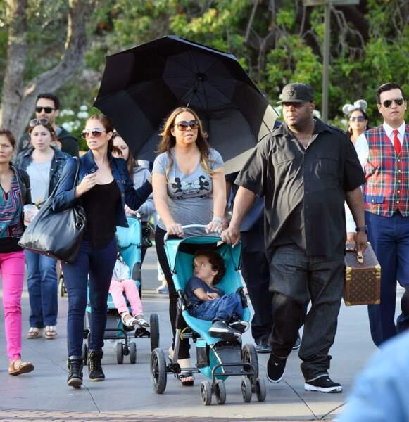 Mariah Carey et son armée (la moitié du parc, en gros)