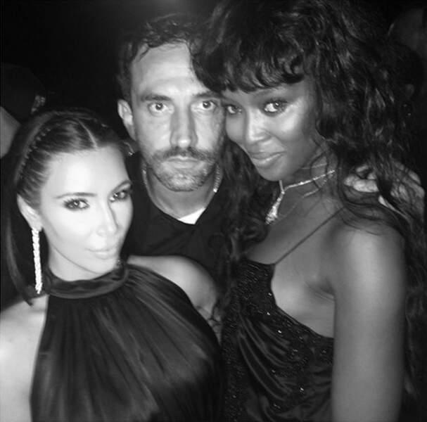 Kim, Ricky et Naomi